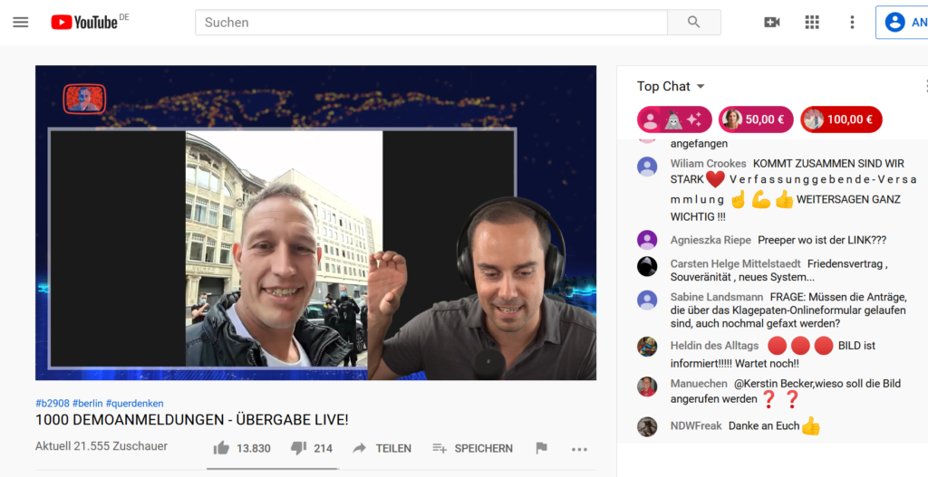 21.000 im Live-Stream bei Eckert