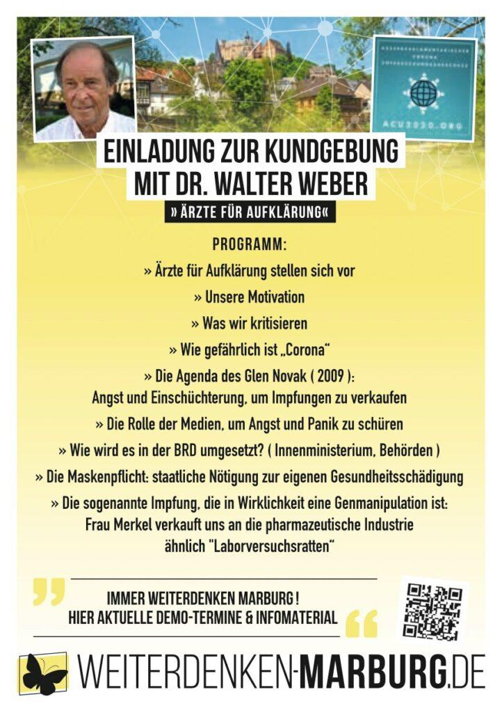 Einladung Dr. Weber 5.9.