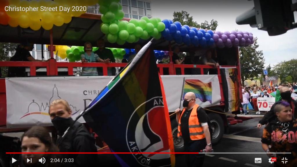 CSD Antifa Dresden