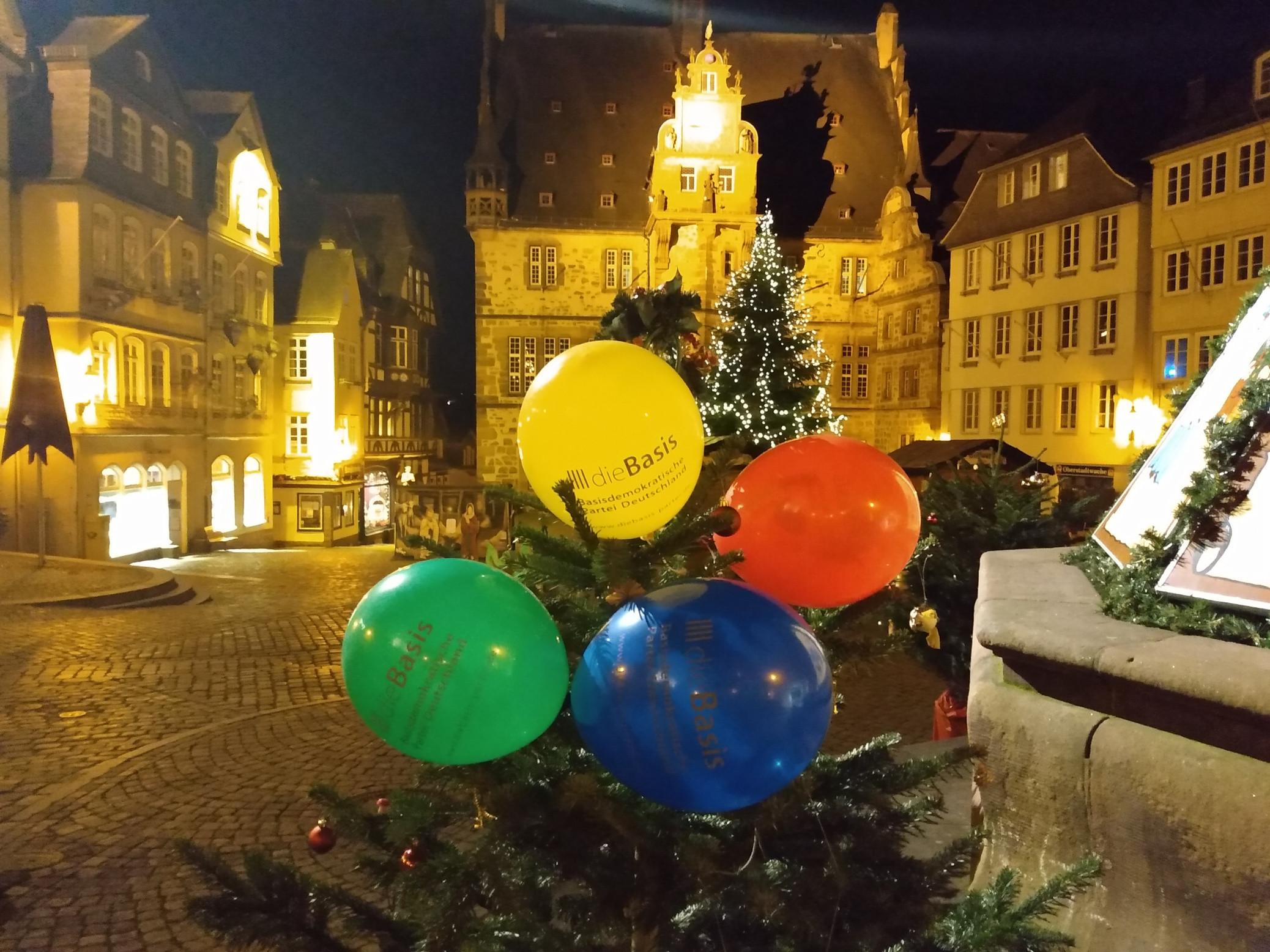 dieBasis Hessen gründet sich in Marburg