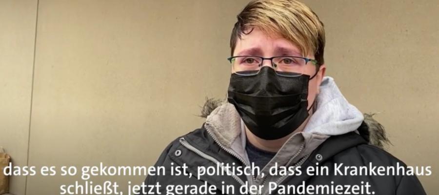 Krankenhausschließung in der Pandemie