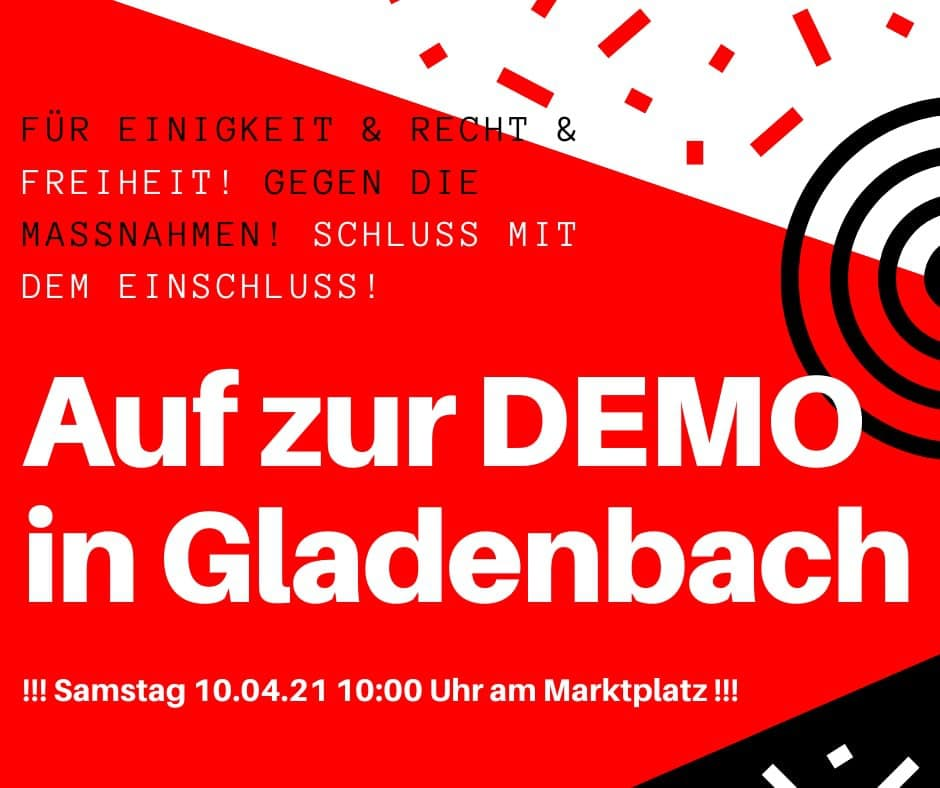 Demo Gladenbach 10.04.2021