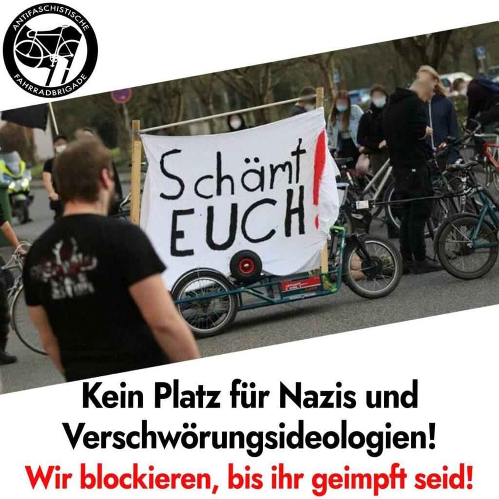Antifa Marburg: Privilegien für geimpfte Nazis