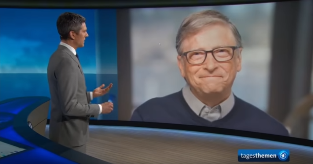 Bill Gates, Tagesschau-Interview am 12.04.2020