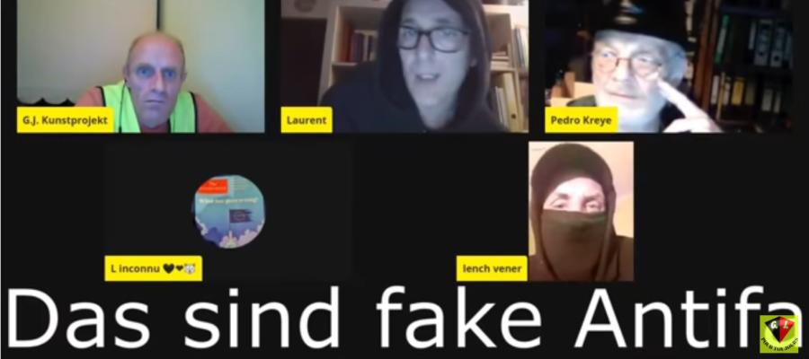 French Antifa: German Antifa is fake