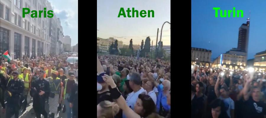 Paris-Athen-Turin